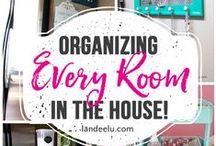 Inspiration: Organization / Brilliant ideas to Organize home, and life!