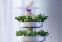 Easter Flowers / Easter is around the corner and these designs inspire Peter Cottontail in all of us.