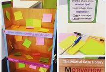 The Library Motivation Station! / Revision pressure getting you down? Visit our Library Motivation Station! Take a message, leave a message - share exam tips and get inspired! Here's what you had to share with your fellow students...