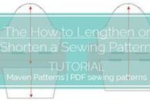 SEWING & PATTERN CUTTING TUTORIALS / sewing | pattern cutting | fitting | toiles | techniques | make