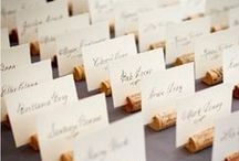 Wedding Place Card Table Flowers / Place card table ideas for place card table flowers.