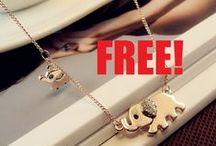 FREE Elephant Family Stroll Necklace - Just Pay Shipping!