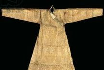 Extant Mongol Clothing / Pre-17th Century Mongol / Steppe culture clothing