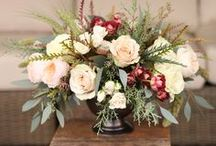 Winter Floral Arrangements / Floral arrangements for the winter to keep your home cozy.