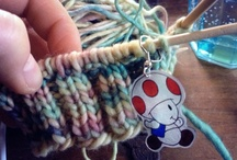 Fun with knitting needles
