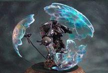 Warhammer! / Warhammer miniatures, miniature painting and terrain modelling