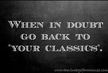 GENRE: CLASSICS / This is a board supporting the old-timers that never get old!
