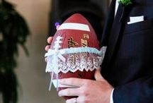 Sporty Brides & Grooms / Football is for lovers