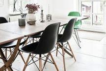 Charles Eames DSW Chair - Einrichtungsideen / Im Esszimmer oder am Esszimmertisch in der Küche, wenn es um Geschmack geht, beweißt man diesen mit den Stühlen der Plastic Side - Serie von Charles Eames.  https://modecor.com/navi.php?qs=dsw
