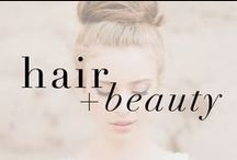 hair + beauty / Check out the latest in Hair and Beauty - make sure you pair your Max Martin stilettos with beautiful accents!