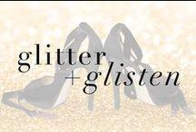 heels that glitter + glisten / Catch some of our luxurious Fall staple stilettos in a Winter Wonderland of Glitter!