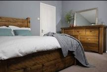 Rustic Bedroom Style / The Bedroom Ideas includes beautifully handcrafted furniture, often made here in the UK by our local craftsmen
