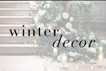 winter dream decor / Check out some of Max Martin's favorite ideas for winter + holiday decor!
