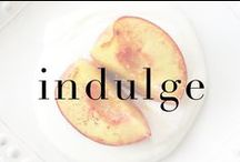 indulge / Indulge with Max Martin... we're suckers for a sweet treat, cute cupcakes, and homemade goodies!