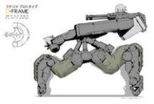 Mechanical / Vehicles, Mecha, scifi etc.
