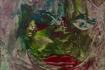 Art zahia  encaustiques / oeuvres en encautiques de zahia, artiste peintre surrexpressionniste www.zahia.fr