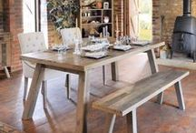 Nilsson Range / With its typical Danish styling and constructed from solid reclaimed wood, this is a stylish collection by Modish Living  is so popular and on trend now. Each piece is handmade and unique.