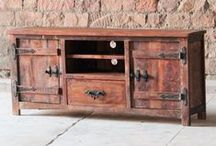 Rustica Range / Rustica Reclaimed Wood Furniture by Modish Living - Handmade in India using reclaimed and recycled timbers that have been salvaged from buildings in India before their demolition.