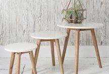 Side tables / Modish Living reclaimed wood side tables - Bedside tables, accent tables, living room tables.