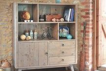 Storage Cabinets - Bookcases - Display Units / Storage Units, Bookcases, Display Units - Solid Wood - Reclaimed Wood