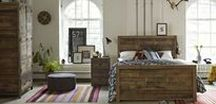 Standford Industrial Reclaimed Wood Furniture / Handcrafted by skilled artisans, the Standford High Reclaimed Furniture is made using 100% reclaimed wood. This natural bed has a luxurious warm finish, one with a story, history and characte