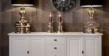 Windsor White Furniture / The  Windsor collection has been finished in an elegant white finish, perfect for chic stylish homes