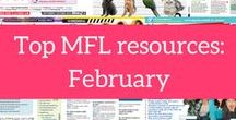 Top MFL resource downloads: February 2017 / The Mary Glasgow Magazines resource bank is home to 14,000+ resources in French, Spanish, German and English. Every magazine subscription comes with free unlimited downloads from the resource bank for a whole year – ideal for saving teachers time. Plus, if you're not a subscriber, you can download five resources for free just by registering on our website: www.maryglasgowplus.com We're taking a look at the top MFL resources for February, including resources on fast food, family and free time: