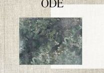 Collection ODE - Tenue de Ville / ODE Is the name of the second collection of Tenue de Ville.  The title already reveals the romantic tint of the collection, in which Decors are essential. They are offered to personalize, tell a story or patina, and above all offer the exceptional.