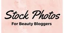 Stock Photos For Beauty Bloggers / Looking for beautiful photos to represent your beauty blog and brand? Check out these awesome resources!
