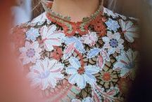 Fashion // Embroidery & Embellishment .