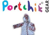 Baby Clothing by Portchie Gear / Portchie Gears baby's clothin range is based on the famous artist #portchie. Baby clothing consists of #babygrows, #bibs and hats with prints that emphasize Portchies work. Www.portchiegear.co.za