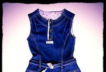 Girls Clothing by Portchie Gear / Portchie Gears girl's clothing range is based on the famous artist #portchie. Clothing consists of #denimdresses #denimskirts #cotton dresses, cute vests and fedora hats with prints that emphasize Portchies work