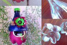 CREAZIONI IN PLASTICA / Idee per riciclare creativamente la plastica