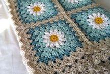 háčkované deky, crocheted blankets
