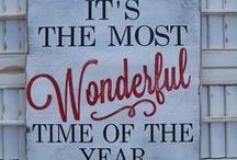 It's the most wonderful time of the year...!! / christmas