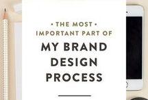 Brand design ideas & Visual identity