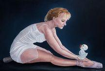 Schilderijen van Margreet Blaas bij Nimis / Vrij werk van margreet blaas