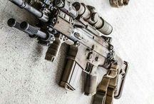 Rifle/machine gun/ shot gun