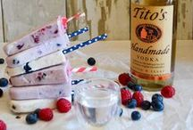 Ice treats with delicious Handmade Tito's Vodka