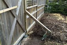 Setting a Fence Post / Bracing Wood Fence Posts - Fence Building Guide.