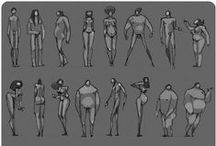 Character Design References / Tips and References