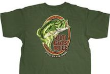 Outdoors - Old Guys Rule / One with nature. Fishing and hunting for food. The thrill of the big catch. If this describes you, check out the Old Guys Rule outdoors inspired collection and hook yourself a good one.