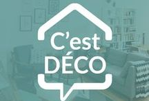 C'est DECO / Sélection Déco, Home Stating et Do It Yoursefl pour embellir son petit nid.
