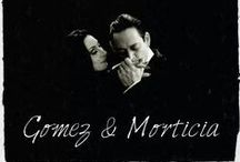 Morticia & Gomez Addams ❤ / Mommy & Daddy = Lovespiration ❤
