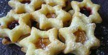 Drobné cukroví, small cookies