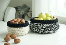~ CROCHET baskets, bowls & cozies ~ / by Amina O with ♥ @ postmodern Amina O blog