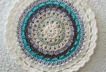 ~ CROCHET mandalas ~ / by Amina O with ♥ @ postmodern Amina O blog
