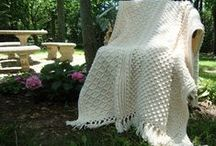 ~ CROCHET blankets ~ / by Amina O with ♥ @ postmodern Amina O blog