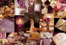 Wedding inspiration - Plum/Aubergine and Champagne / We are getting married in the summer of 2014 so here I will gather some inspiration for myself, mainly by our theme colors: Purple/Plum and Champagne.