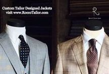 Rocco's Custom Tailor / Hello, I'm Dominic Lacquaniti, designer and tailor. Sharing custom clothes – for both men & women. Looking good is between you and your tailor. www.roccotailor.com #CustomTailors #Men #boutique